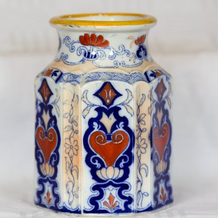 6. A Staffordshire Ironstone Vase from middle of C19th.