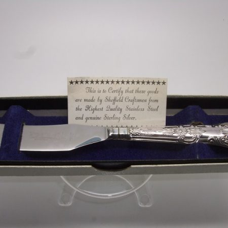 Silver butter knife