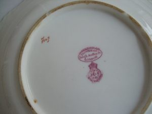 Royal Worcester serving