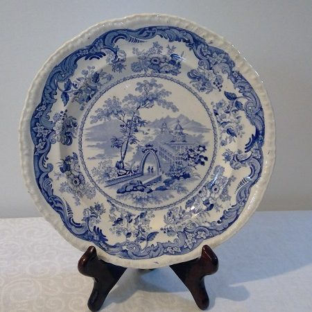 "Fell ""Chinese Marine"" Plate"