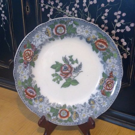 Antique Copeland plate
