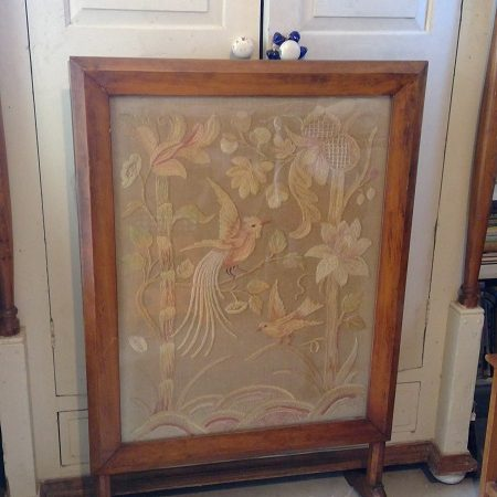 Edwardian Tapestry Firescreen
